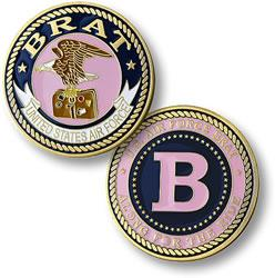 Brat Girl - Air Force Commemorative Coin