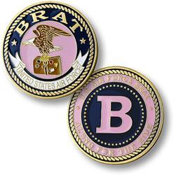 Brat Girl - Air Force Commemorative Coin