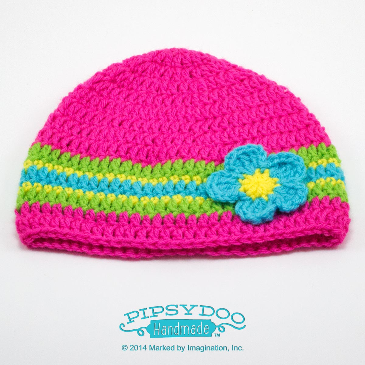 Pipsydoo Banded Beanie WIth Flower b931532ead6